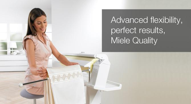 Advanced flexibility, perfect results, Miele quality
